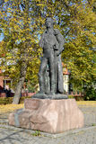 Monument to the commander M. I. Kutuzov in Kaliningrad, Russia Royalty Free Stock Photo