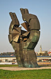 Monument to commemorating victims of the Sajmiste concentration camp in Belgrade. Serbia Stock Images