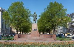 Monument to composer Glinka Stock Images