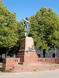 Monument to the composer M.I. Glinka. St. Petersburg. The Russian text - to Mikhail Ivanovich Glinka.  stock images