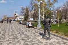 Monument to Comrade Sukhov Stock Photo
