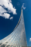 Monument to the Conquerors of Space in Moscow Royalty Free Stock Photos
