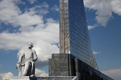 Monument to the Conquerors of Space, Moscow Stock Photography