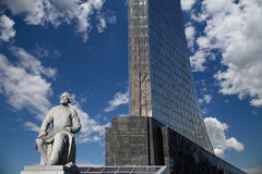 Monument to the Conquerors of Space, Moscow Royalty Free Stock Images
