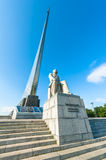 Monument to the Conquerors of Space Stock Images