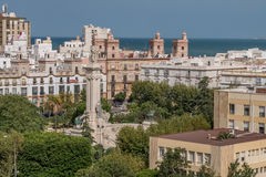 Monument to the Constitution of 1812 in Cadiz Stock Images