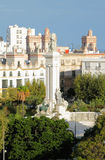 Monument to Constitution of 1812. Cadiz, Spain Stock Image