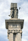 Monument to the Constitution of 1812, Decorative detail Royalty Free Stock Photo
