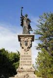 Monument to the corregidora I Stock Images