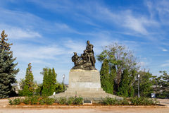 Monument to the courage of young Communists. Sevastopol, Crimea, Stock Photography