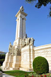 Monument to the Courts of Cadiz, 1812 Constitution, Andalusia, Spain Royalty Free Stock Photography