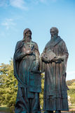 Monument to Cyril and Methodius Stock Images