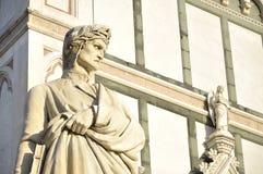 Monument to Dante Alighieri Royalty Free Stock Image