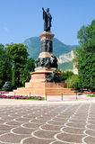 Monument to Dante, Trento, Italy Stock Images