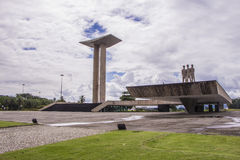 Monument to the dead of World War II - Brazil Royalty Free Stock Photography