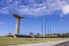 Monument to the dead of World War II - Brazil Royalty Free Stock Photos