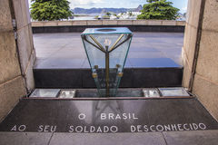 Monument to the dead of World War II - Brazil Royalty Free Stock Image