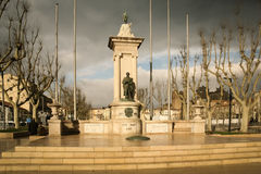Monument to the deads of France. Narbonne. France Stock Photo