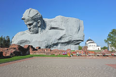 The monument to the defenders of the Brest fortress Stock Image