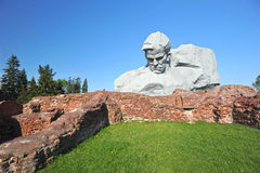 The monument to the defenders of the Brest fortress Stock Photography