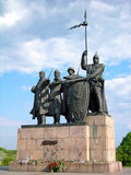 Monument to the Defenders of Chernigiv Stock Photos