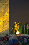 Monument to the defenders of the fatherland Royalty Free Stock Photos
