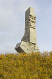 Monument to the Defenders of the Polish Coast at Westerplatte, Poland Royalty Free Stock Image