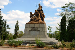 Monument to the defenders of Sevastopol in the Great Patriotic War Royalty Free Stock Photos