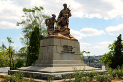 Monument to the defenders of Sevastopol in the Great Patriotic War. Crimea, Russia Stock Photography