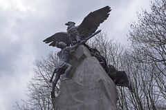 Monument to the defenders of Smolensk in the Patriotic War of 18 Royalty Free Stock Photos