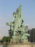 Monument to the Defense of Paris Royalty Free Stock Image
