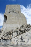 Monument to the Discoveries. In Lisbon, Portugal stock photo