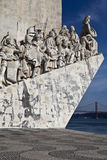 Monument to the Discoveries Stock Photos