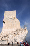 Monument to the Discoveries Royalty Free Stock Photography