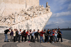 Monument to the Discoveries Royalty Free Stock Photo
