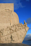 Monument to the discoveries. In Lisbon Stock Photography