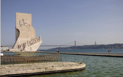 Monument to the Discoveries) Royalty Free Stock Images