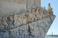 Monument to the the Discoveries Royalty Free Stock Photos