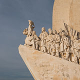 Monument to the discoveries - Belem, Lisbon Royalty Free Stock Photo