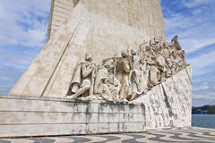 Monument to the Discoveries in Belem, Lisbon, Portugal Royalty Free Stock Photos