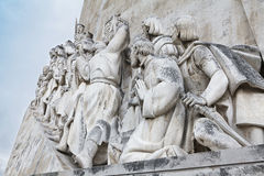 Monument to the Discoveries Stock Photo