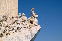 Monument to the Discoveries, details Royalty Free Stock Photo