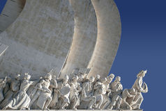 Monument to the Discoveries II. Monument to the portuguese Naval Discoveries stock photo