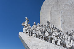 The Monument to the Discoveries. Lisbon Royalty Free Stock Image
