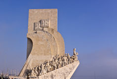 Monument to the Discoveries. Lisbon Royalty Free Stock Photos