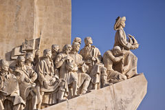 Monument to the Discoveries. In Lisbon Royalty Free Stock Image