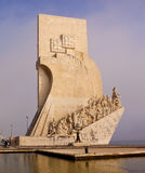 Monument to the Discoveries. Lisbon Royalty Free Stock Photography