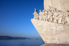 Monument to the Discoveries in Lisbon Stock Photos
