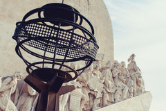 Monument to the Discoveries. In Lisbon, near to Torre de Belem Stock Photo