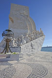 Monument to the Discoveries Lisbon Royalty Free Stock Photography